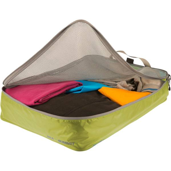 Sea to Summit TravellingLight Garment Mesh Bags Größe L lime-grey - Bild 2