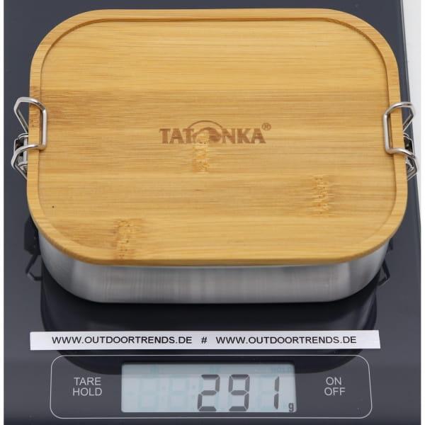 Tatonka Lunch Box I Bamboo 800 ml - Edelstahl-Proviantdose stainless - Bild 4