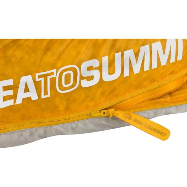 Sea to Summit Spark SpIII - Schlafsack light grey-yellow - Bild 8