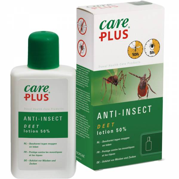 Care Plus Anti-Insect Deet Lotion 50% - 50 ml - Bild 1