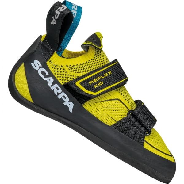 Scarpa Reflex Kid - Kinder- & Jugend-Kletterschuh yellow-black - Bild 5