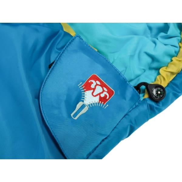 Grüezi Bag Kids Grow Colorful - Schlafsack für Kinder water - Bild 14