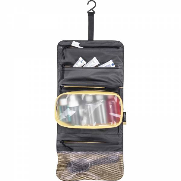 COCOON Hanging Toiletry Kit Minimalist - Kulturbeutel grey-black-yellow - Bild 4