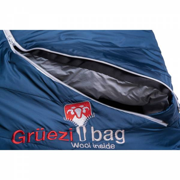 Grüezi Bag Biopod Wolle Zero - Wollschlafsack night blue - Bild 6