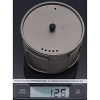 Vorschau: VARGO Ti-Lite Mug 0,9L - Titan Becher - Bild 3