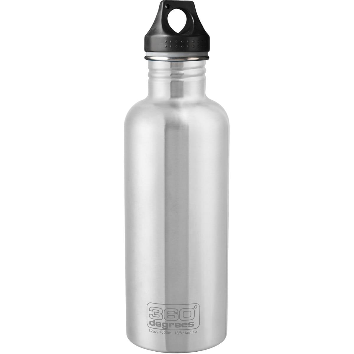 360° degrees Stainless Drink Bottle - 1000 ml - Trinkflasche silver - Bild 1
