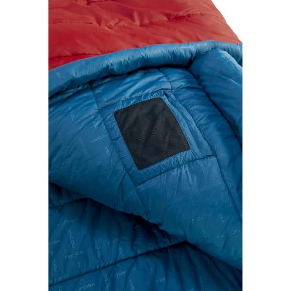Nordisk Puk -2° Blanket - Decken-Schlafsack sun dried tomato-majolica blue-syrah - Bild 8