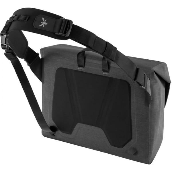 Apidura City Messenger M - 13 Zoll Kuriertasche dark grey melange-black - Bild 2