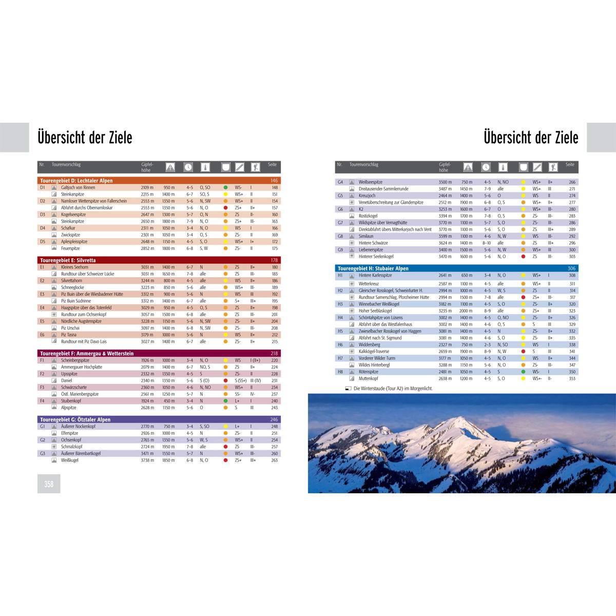 Panico Verlag Best of Skitouren - Band 2 - Bild 2