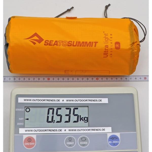 Sea to Summit Ultralight Insulated Mat - Schlafmatte orange - Bild 3