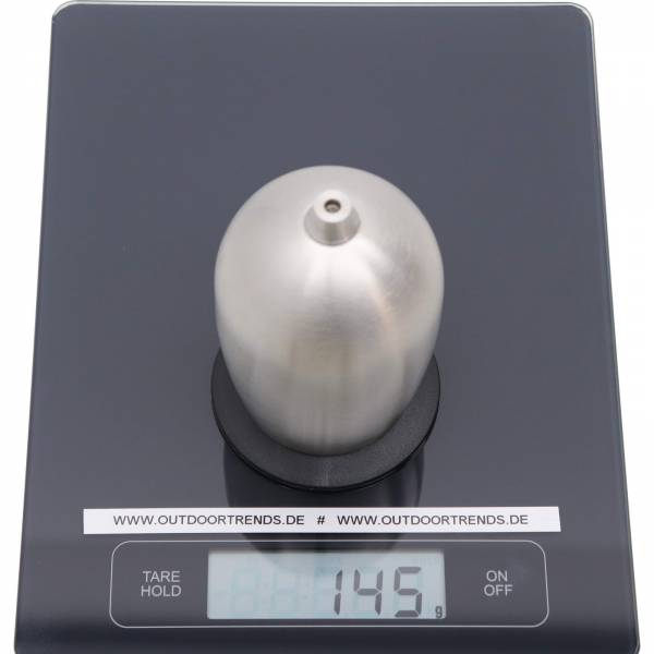 GSI Glacier Stainless Nesting Wine Glass silver-black - Bild 3