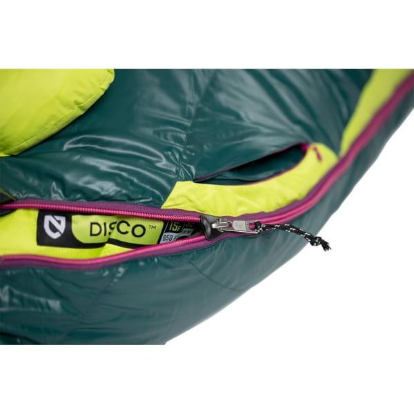 NEMO Disco Women's 15F/-9°C - Daunenschlafsack electra-starlit ridge - Bild 10
