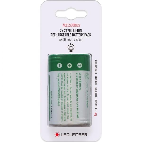Ledlenser 2x 21700 Lithium-Ionen Rechargeable Battery 3,7 V / 4800 mAh - Ersatzbatterie - Bild 1