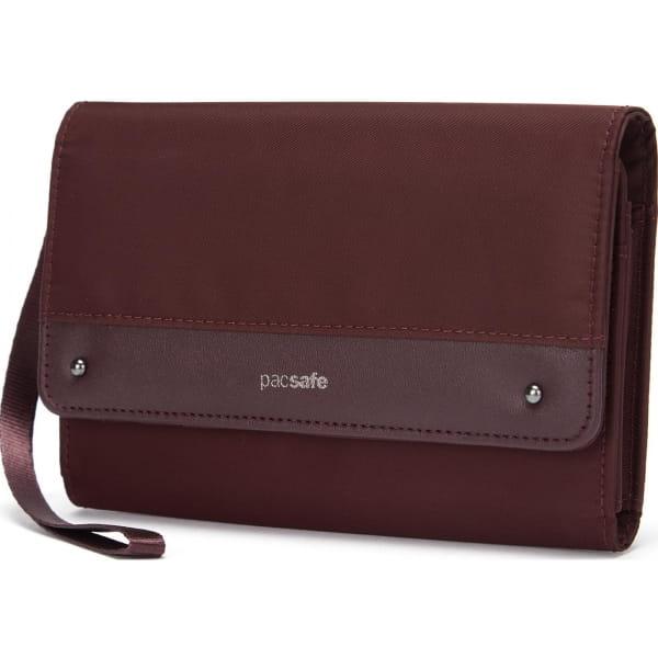pacsafe RFIDsafe Women's Clutch Wallet - Geldbörse merlot - Bild 9