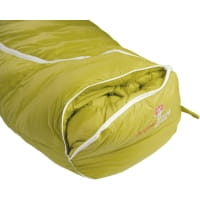 Vorschau: Grüezi Bag Biopod DownWool KidsTeen - Daunen- & Wollschlafsack citron - Bild 12