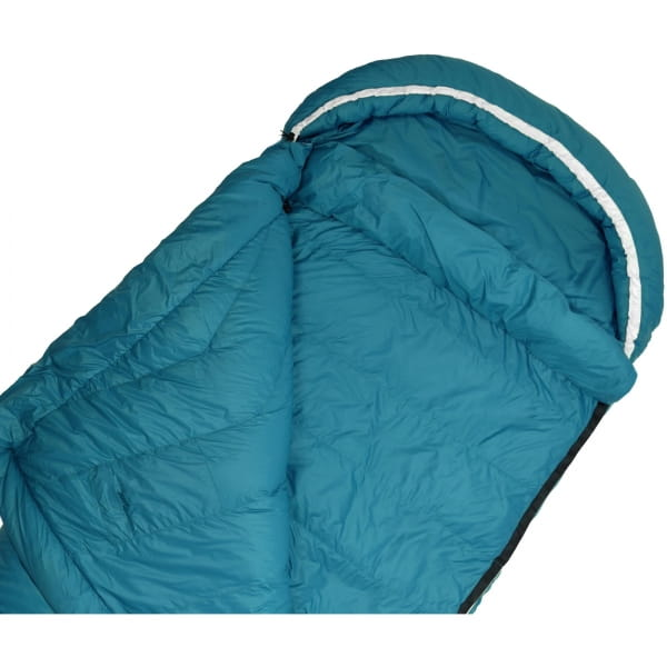Grüezi Bag Biopod DownWool Subzero Comfort - Daunen- & Wollschlafsack autumn blue - Bild 7