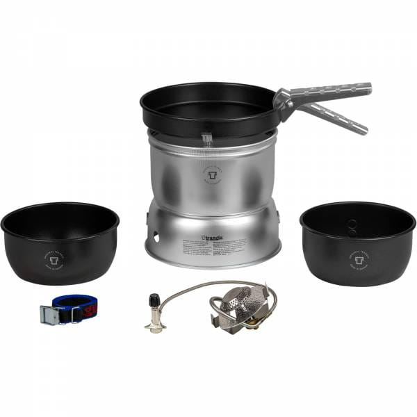 Trangia Sturmkocher Set klein - 27-5 UL - Gas - ohne Wasserkessel - Bild 1