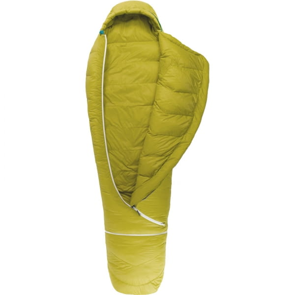 Grüezi Bag Biopod DownWool KidsTeen - Daunen- & Wollschlafsack citron - Bild 5