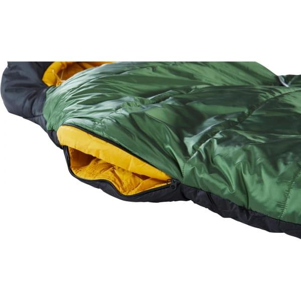 Nordisk Gormsson -2° Mummy - 3-Jahreszeiten-Schlafsack artichoke green-mustard yellow-black - Bild 12