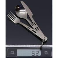 Vorschau: VARGO Titanium Spoon, Fork & Knife - Besteckset - Bild 2