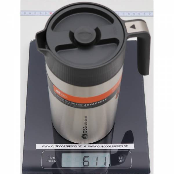 GSI Glacier Stainless Java Press - Kaffee-Kanne mit Filter - Bild 2