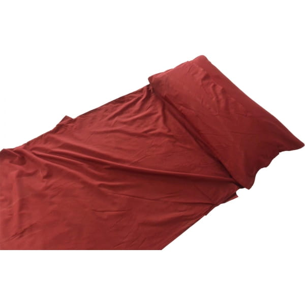 Origin Outdoors Sleeping Liner Baumwolle - Deckenform bordeaux - Bild 12