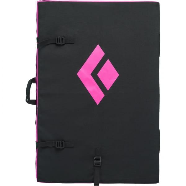 Black Diamond Circuit Crash Pad - Boulder-Matte black-ultra pink - Bild 3