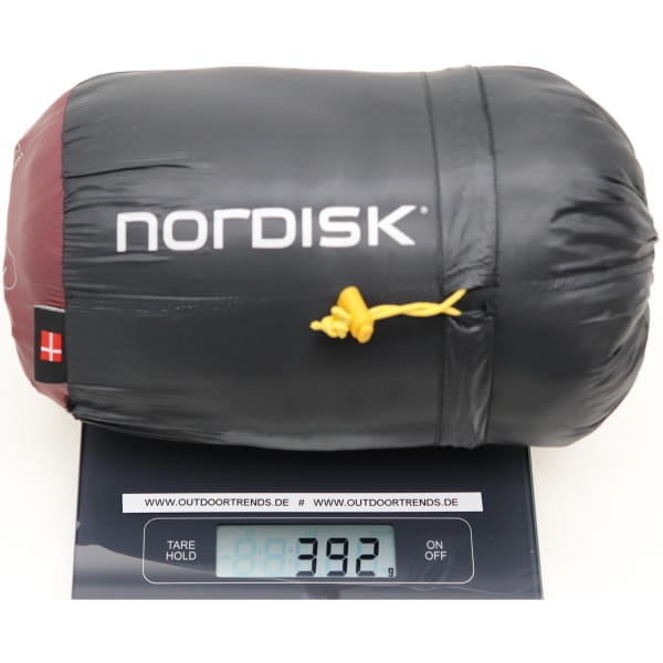 Nordisk Oscar +10° Mummy - Sommerschlafsack rio red-mustard yellow-black - Bild 4