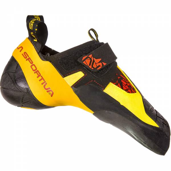 La Sportiva Skwama - Kletterschuhe black-yellow - Bild 2