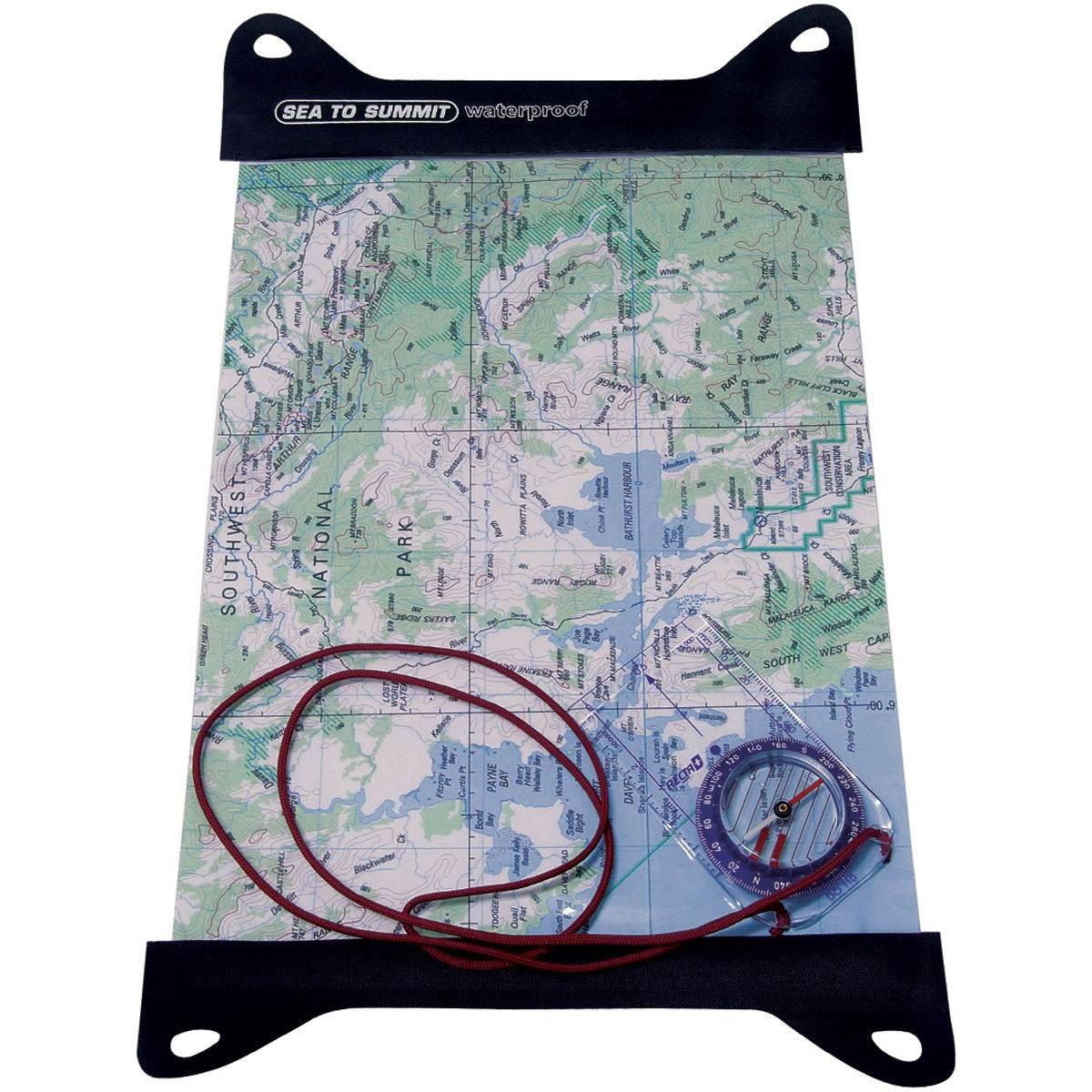 Sea to Summit TPU Guide Map Case groß - Kartentasche