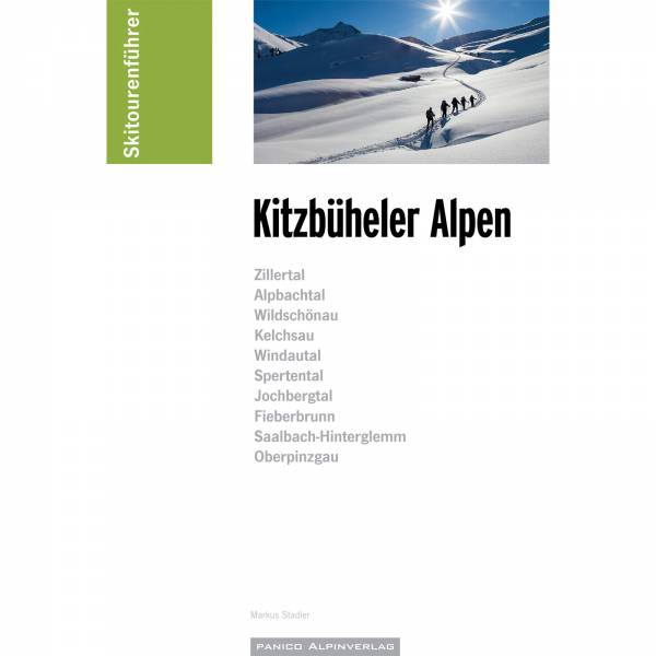 Panico Verlag Kitzbühler Alpen - Skitourenführer - Bild 1