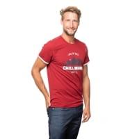 Vorschau: Chillaz Men's Retro Worry Less - T-Shirt dark red - Bild 10