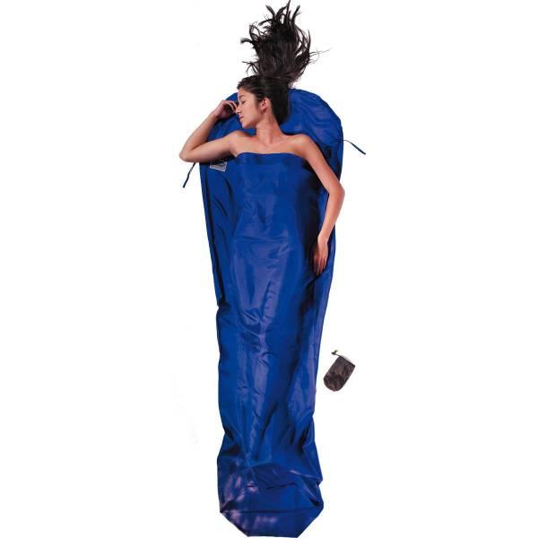 COCOON Silk MummyLiner Gr. S - Seiden-Schlafsack ultramarine blue - Bild 1