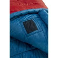 Vorschau: Nordisk Puk -2° Blanket - Decken-Schlafsack sun dried tomato-majolica blue-syrah - Bild 8