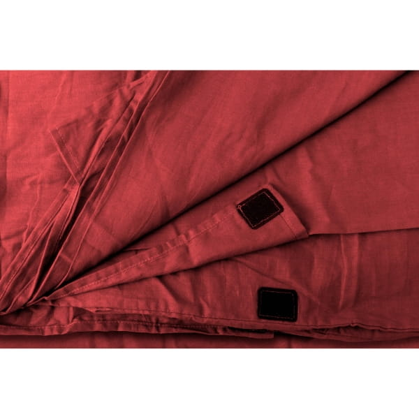 Origin Outdoors Sleeping Liner Baumwolle - Deckenform bordeaux - Bild 14