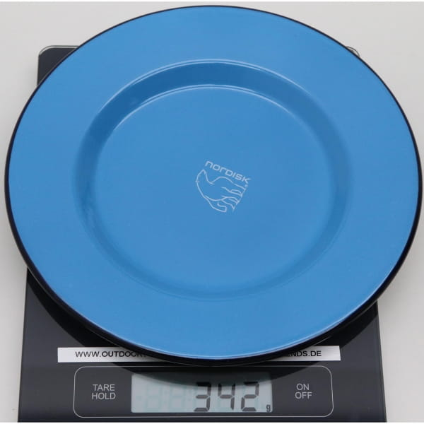 Nordisk Madam Blå Steel Plate - Teller - Bild 5