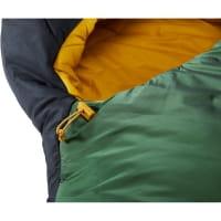Vorschau: Nordisk Gormsson -2° Curve - 3-Jahreszeiten-Schlafsack artichoke green-mustard yellow-black - Bild 9