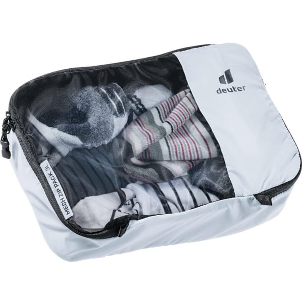 deuter Mesh Zip Pack - Packtasche tin - Bild 1