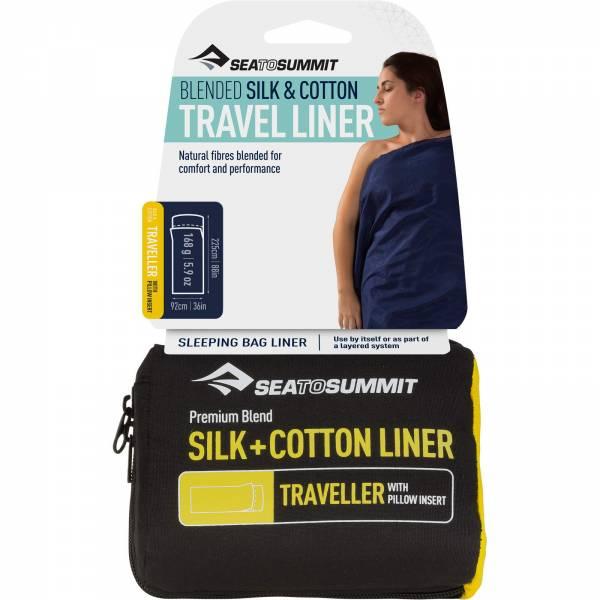 Sea to Summit Silk Cotton Travel Liner - Bild 1