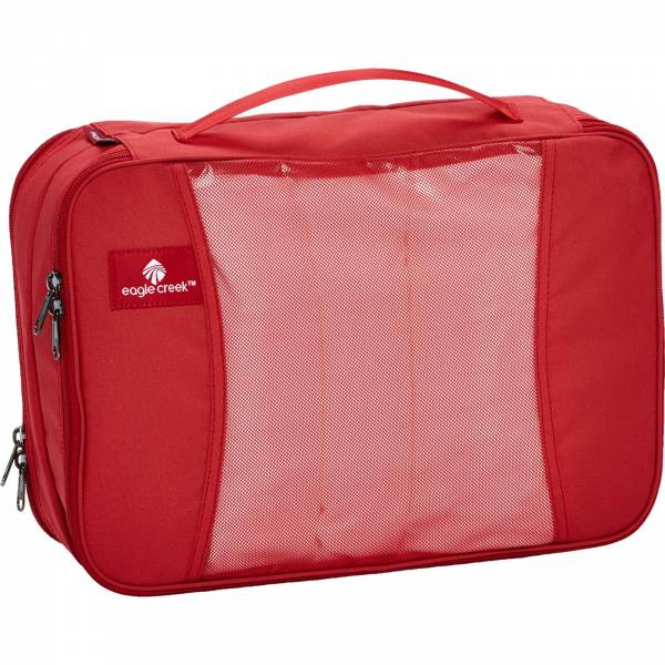 Eagle Creek pack-it Clean Dirty Cube Medium red fire - Bild 3