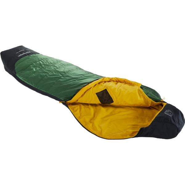 Nordisk Gormsson +10° Curve - Sommerschlafsack artichoke green-mustard yellow-black - Bild 1
