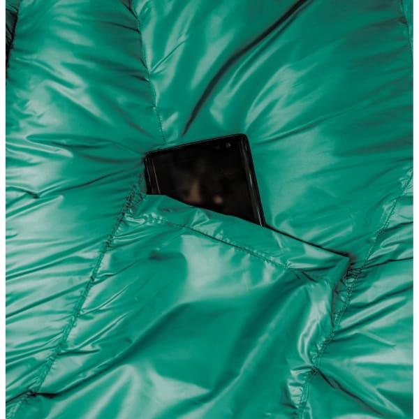 Grüezi Bag Biopod DownWool Subzero - Daunen- & Wollschlafsack pine green - Bild 23