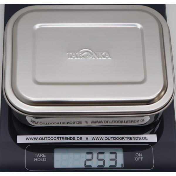 Tatonka Lunch Box I 1000 ml - Edelstahl-Proviantdose stainless - Bild 2