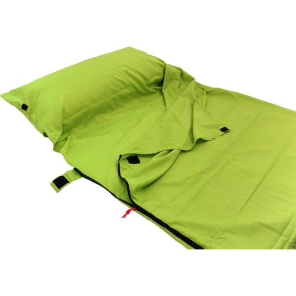 Origin Outdoors Sleeping Liner Mikrofaser grün - Bild 7