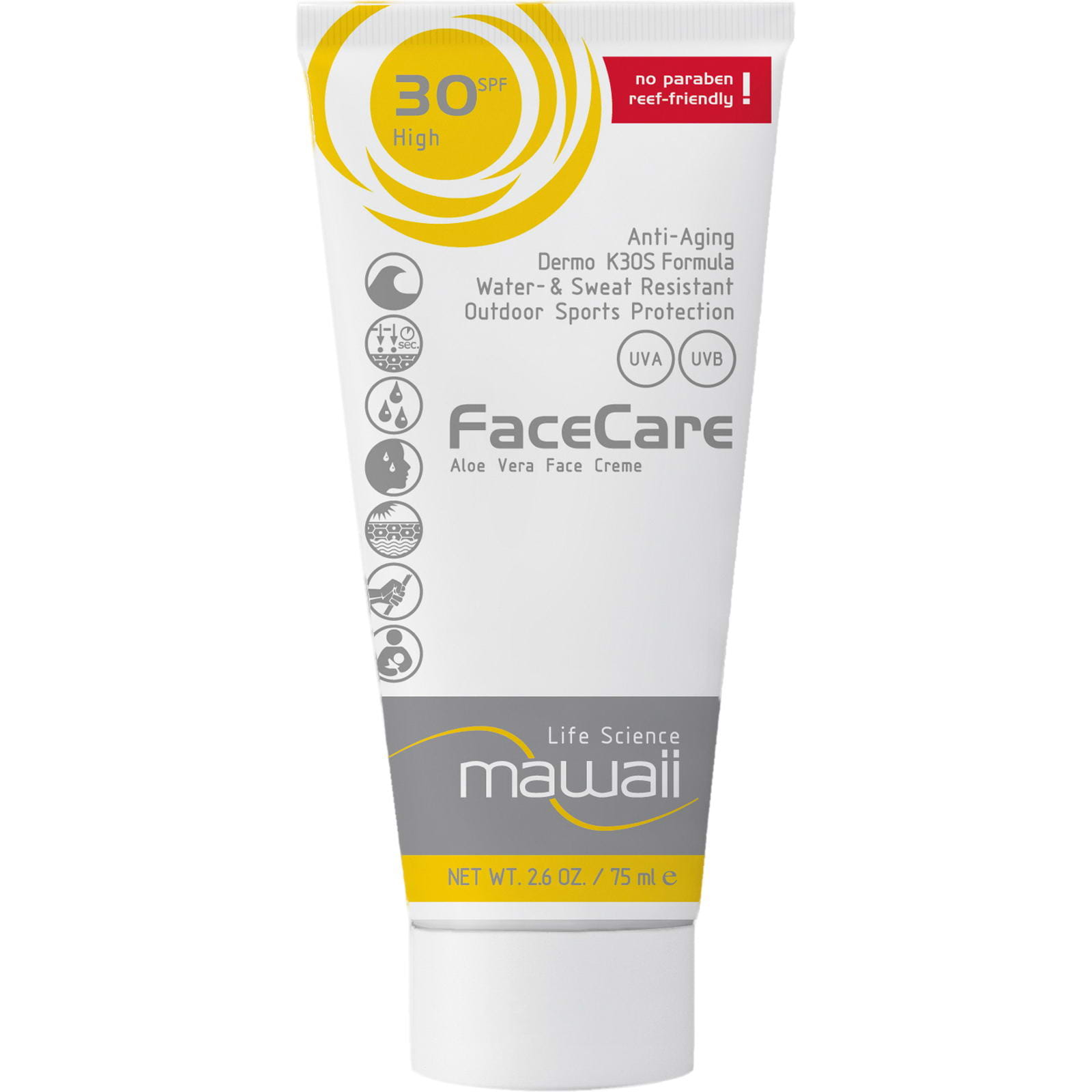 mawaii FaceCare SPF 30 - 75 ml - Bild 1