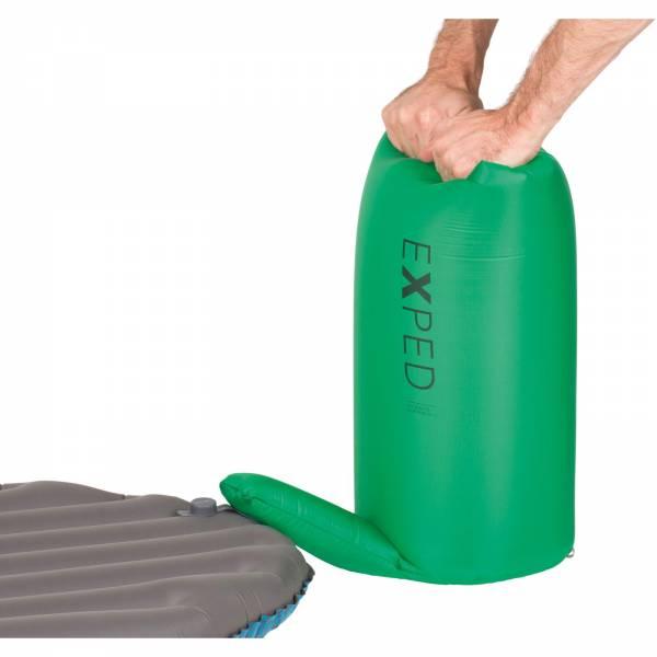 EXPED Schnozzel Pumpbag UL - Pump-Pack-Sack green - Bild 4