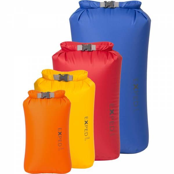 EXPED Fold Drybag BS - 4er Packsack-Set - Bild 1