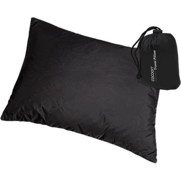 COCOON Synthetic Pillow SP Large - Reise-Kopfkissen charcoal - Bild 1
