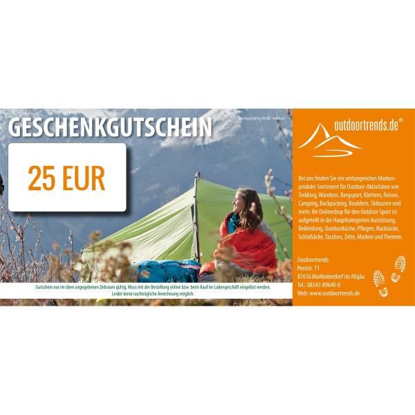 outdoortrends Geschenkgutschein - 25 EUR - Bild 1