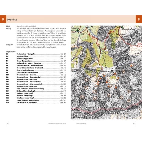 Panico Verlag Wetterstein Nord - Kletterführer Alpin - Bild 5